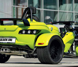 The Trike Guy - UK's No.1 Rewaco trike importer and supplier. BLACK LINE RF1 GT to RF1 LT-2 / BLACK LINE EDITION