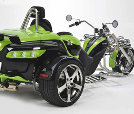 The Trike Guy - UK's No.1 Rewaco trike importer and supplier. RF1 LT-1 & RF1 LT-2 Luxury Tourers
