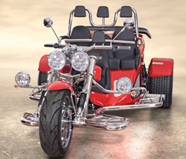 The Trike Guy - UK's No.1 Boom trike importer and supplier. MUstand family adbace