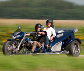 The Trike Guy - UK's No.1 Boom trike importer and supplier. RF1 ST-2 & RF1 ST-3 Sports Tourer