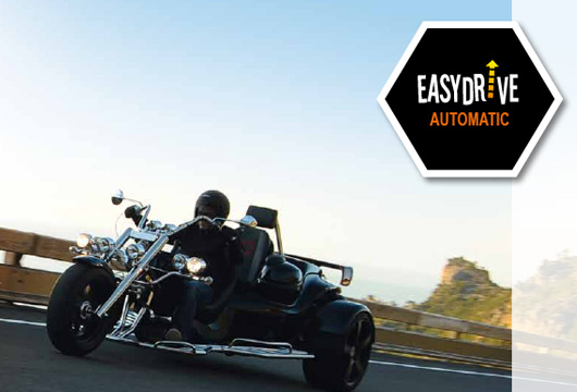 The Trike Guy - 2017 see's all new Rewacos with an EasyDrive Automatic gearbox, leaving you with no need to shift – just enjoy.