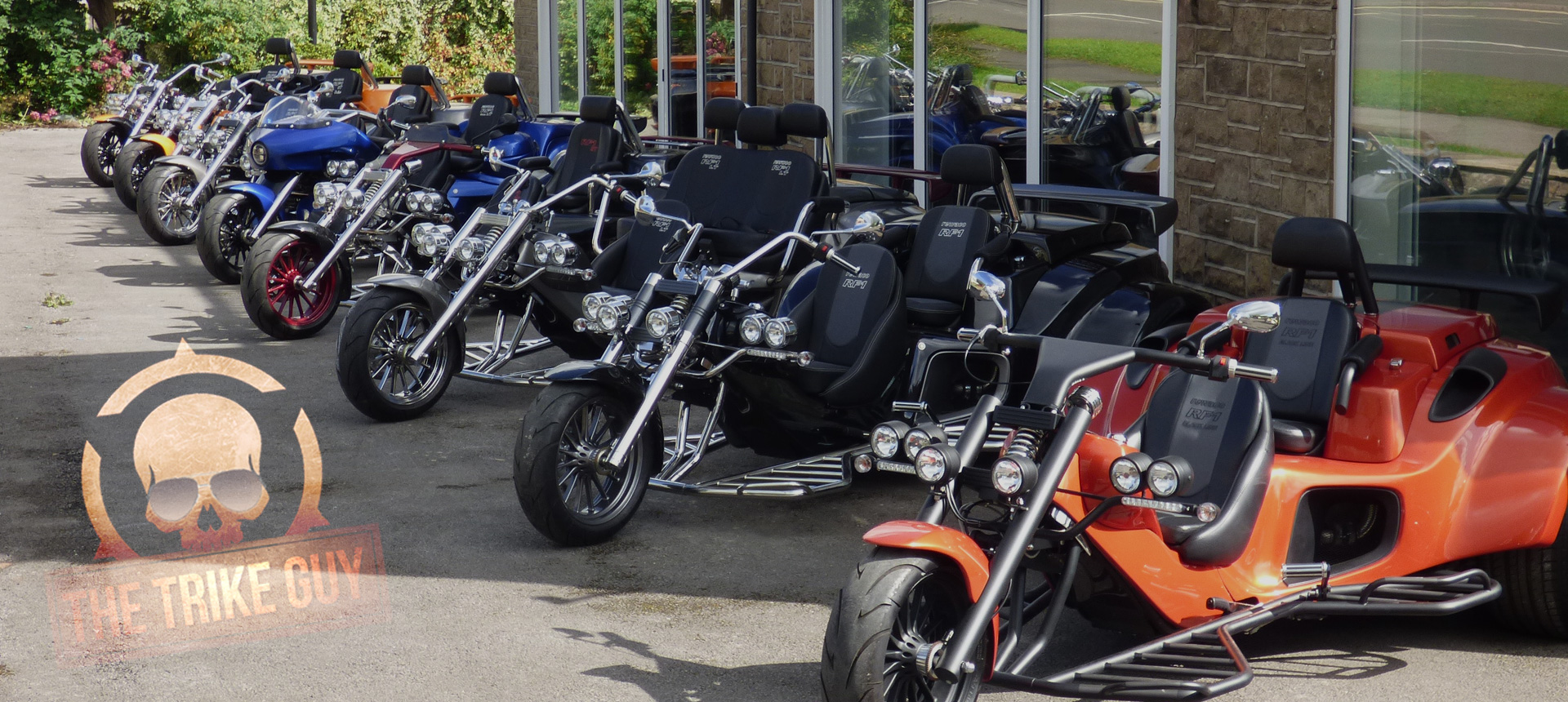 The UK's No.1 for New & Used Trikes & Official Rewaco Main Dealer
